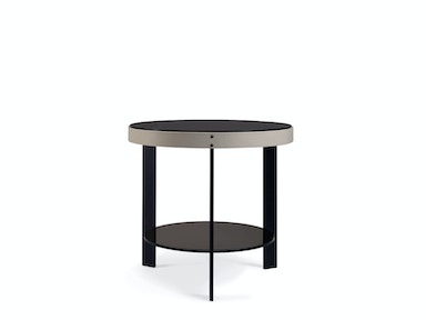 Milling Road by Baker Halo Side Table MR7059O