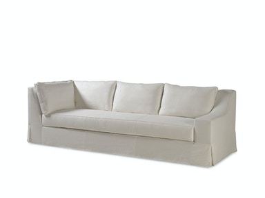 Milling Road by Baker LAX Skirted Sectional One Arm Corner Sofa MR7221SC