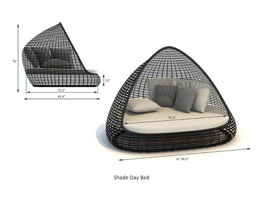 Skyline Design Shade Daybed Shade Daybed