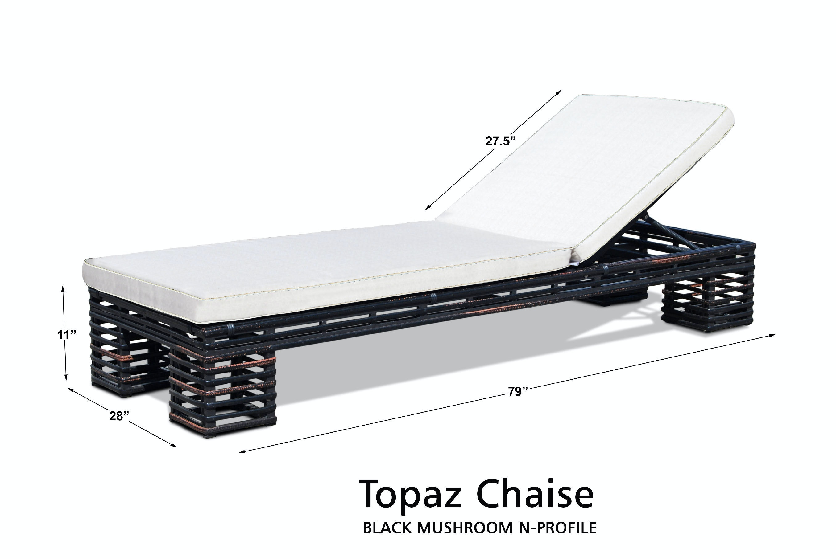 Skyline Design Topaz Chaise