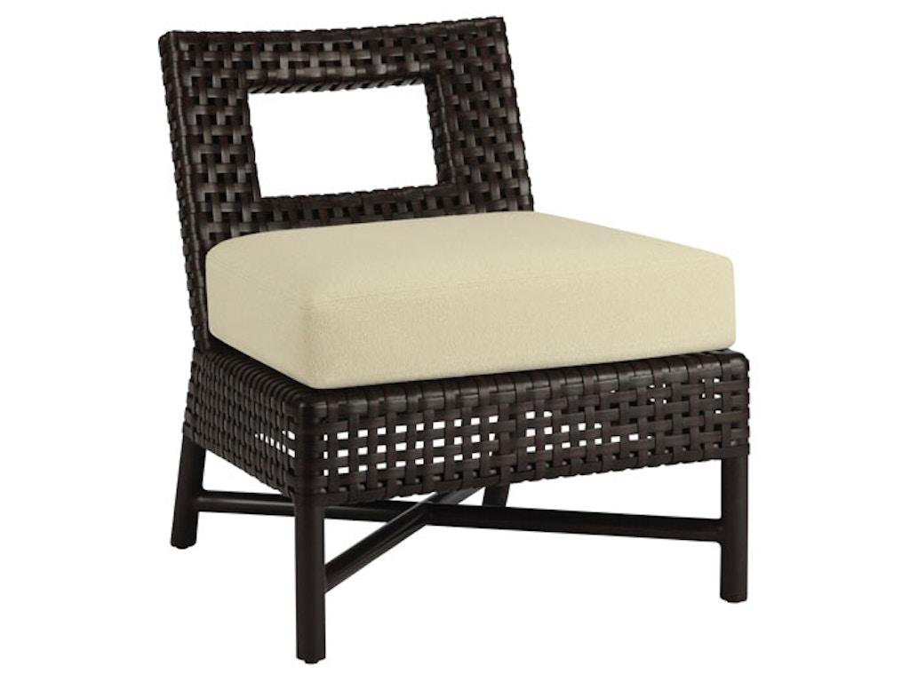 Mcguire Living Room Antalya Outdoor Slipper Chair Mcg An 12 Studio 882 Glen Mills Pa