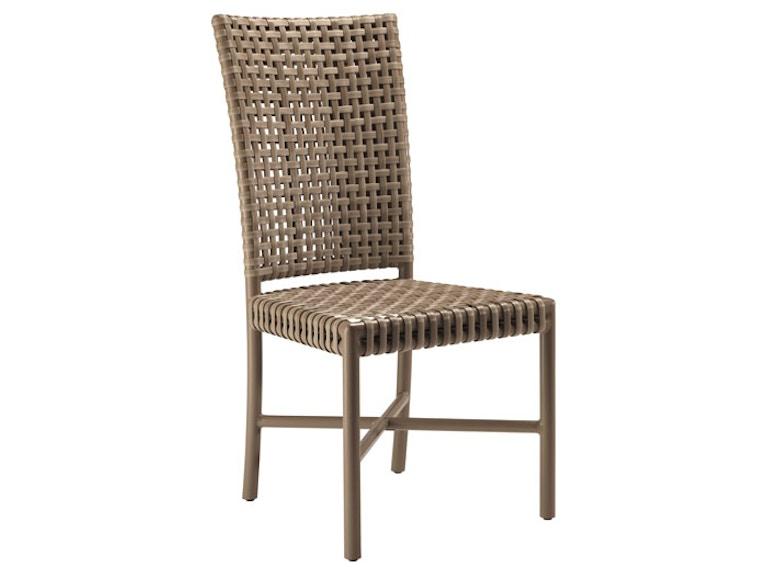 Mcguire Dining Room Antalya Outdoor Tall Back Side Chair Mcg An 71 Studio 882 Glen Mills Pa