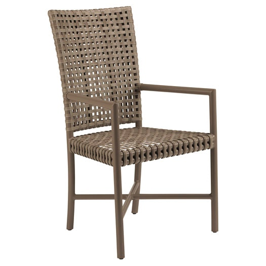 McGuire Dining Room Antalya Outdoor Tall Back Arm Chair MCG AN 72 Studio 88