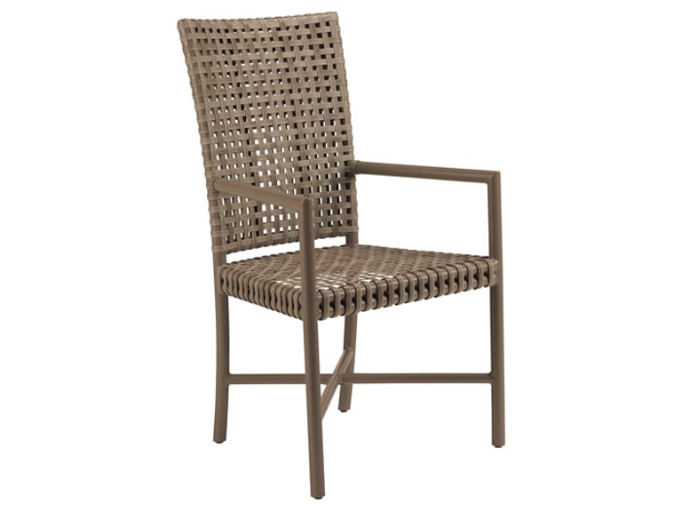 Mcguire Dining Room Antalya Outdoor Tall Back Arm Chair Mcg An 72 Studio 882 Glen Mills Pa