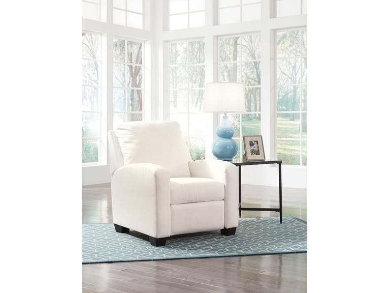 Living Room Ashley Ayanna Nuvella Low Leg Recliner 9470430 S