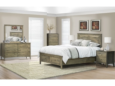 Dine-Art Queen Bed with 2 Drawers CU15104