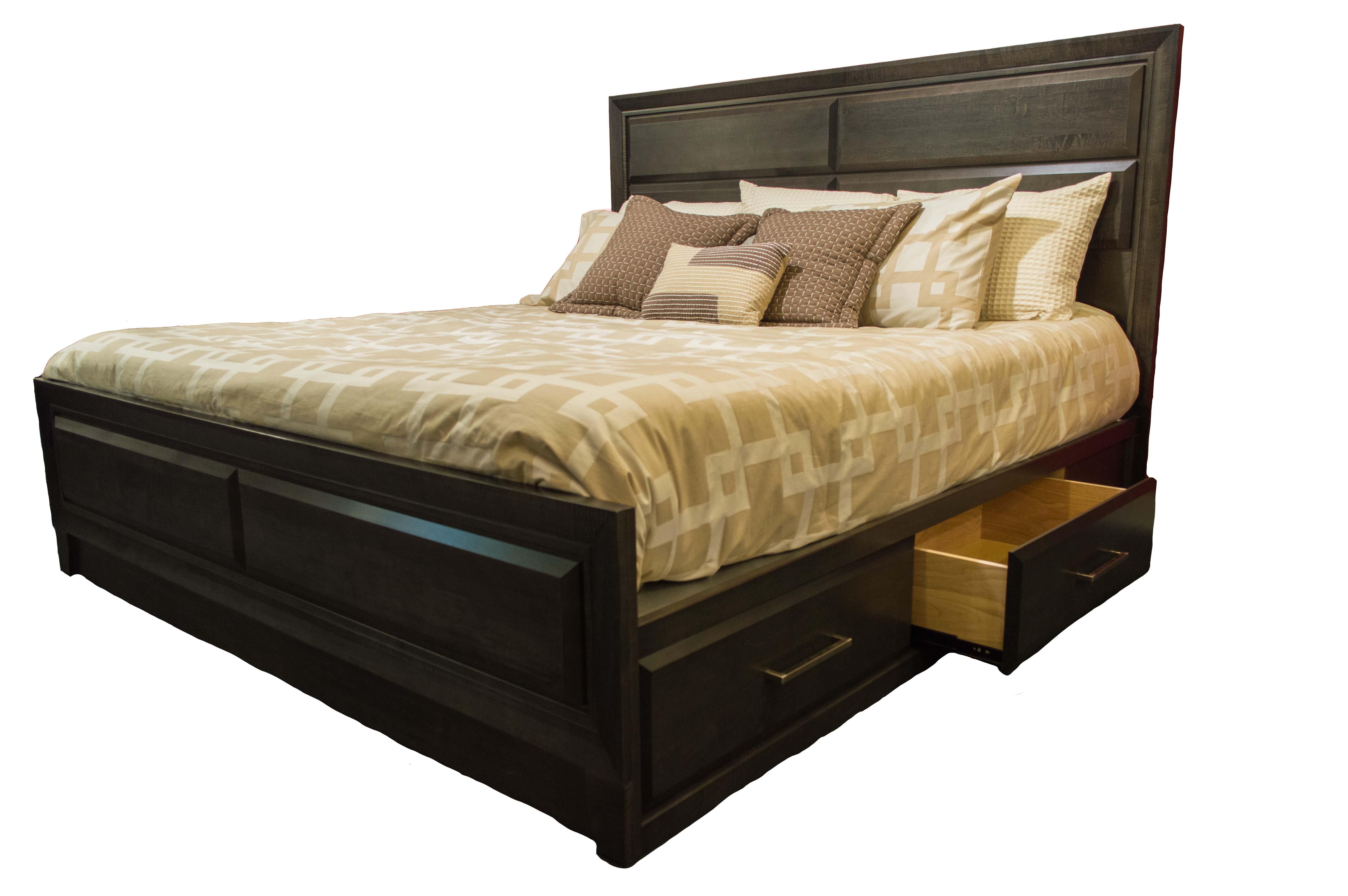 672 King Storage Bed