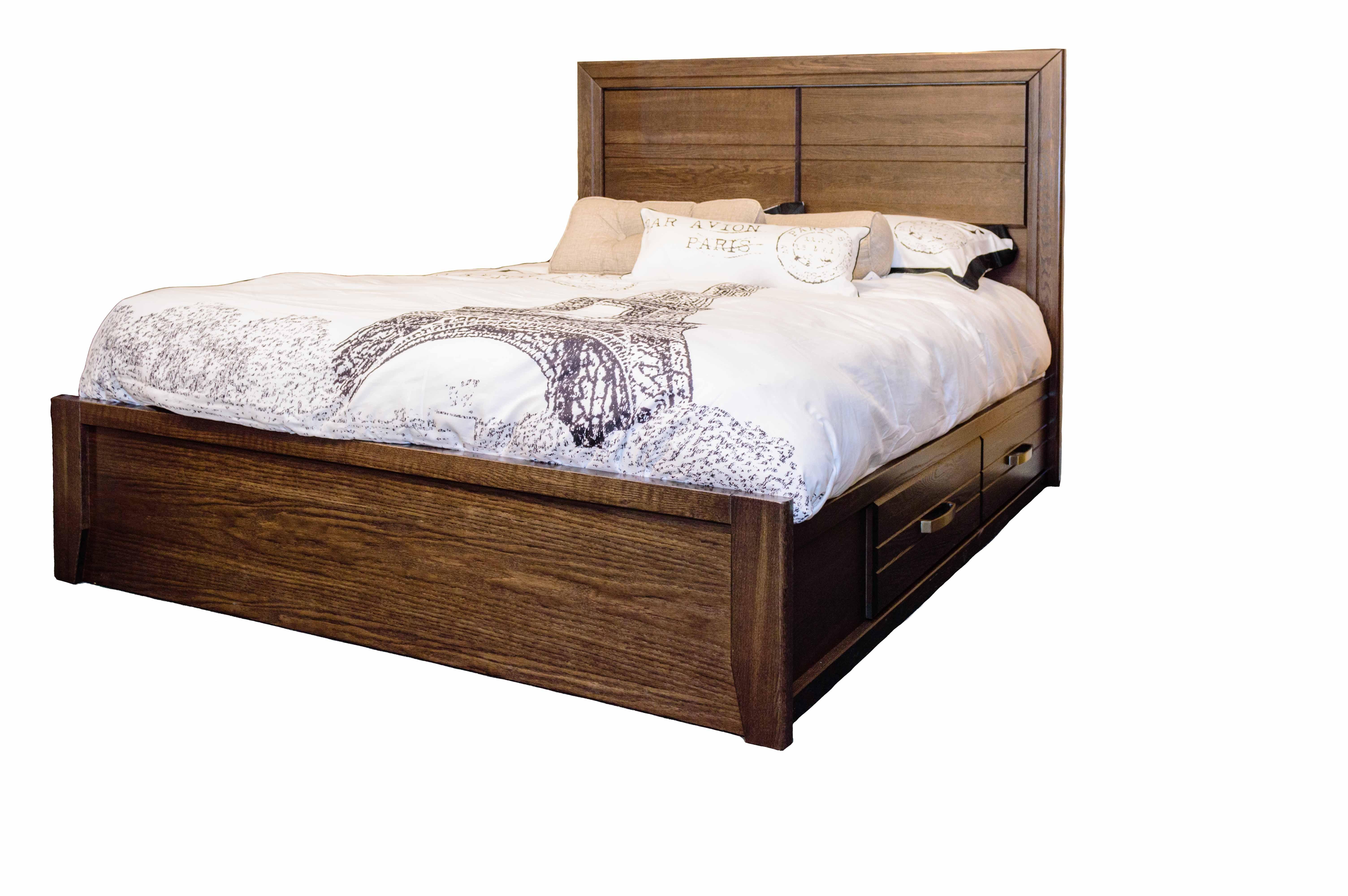 Defehr Furniture King Panel Storage Bed 682 Kng Pnl Strg Bed