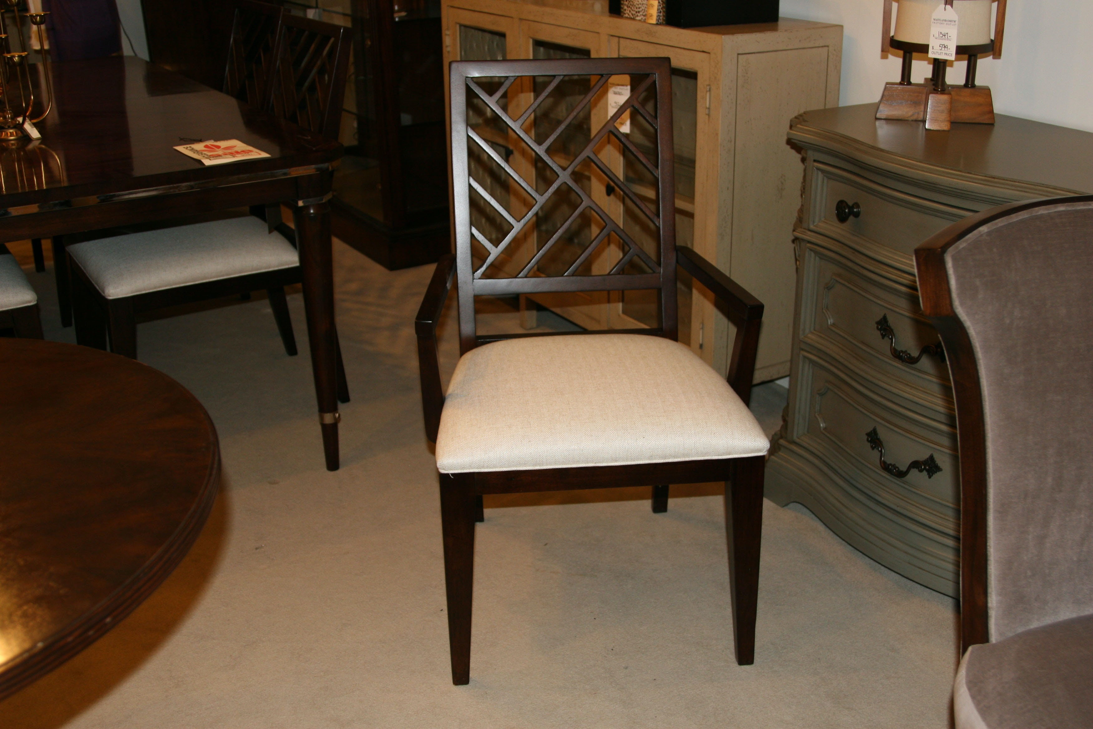 hickory dining room chairs. drexel heritage factory outlet dining room set of 6 chairs by 587-726 | hickory furniture mart hickory, nc