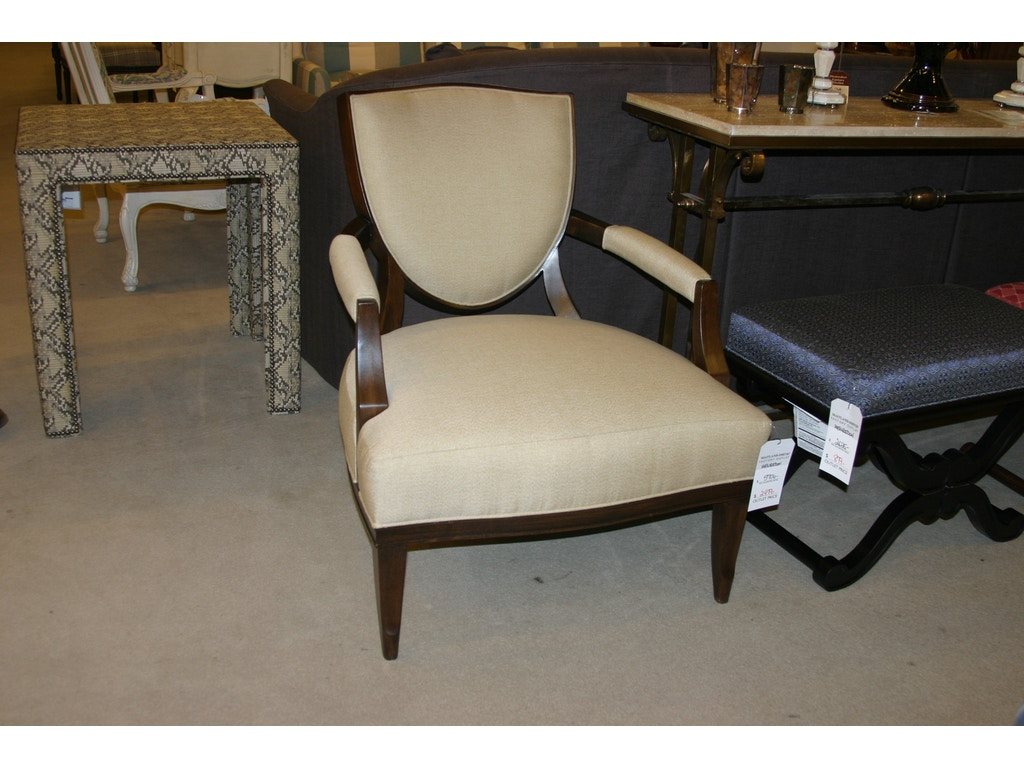 Henredon factory outlet living room shield chair by for Furniture factory outlet