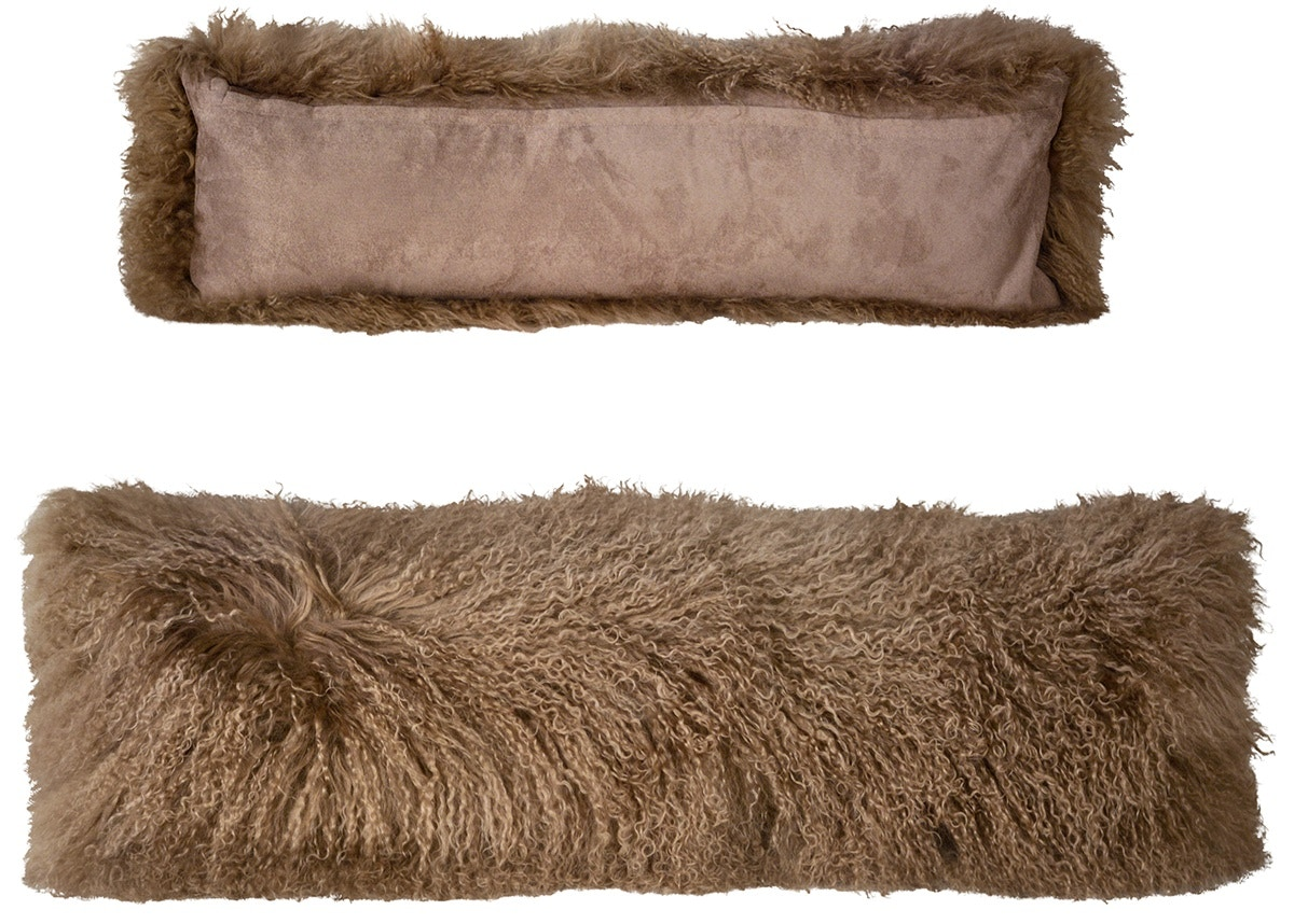 Dovetail Furniture Accessories MOHAIR PILLOW BEIGE DOV11002 | Hickory  Furniture Mart | Hickory, NC