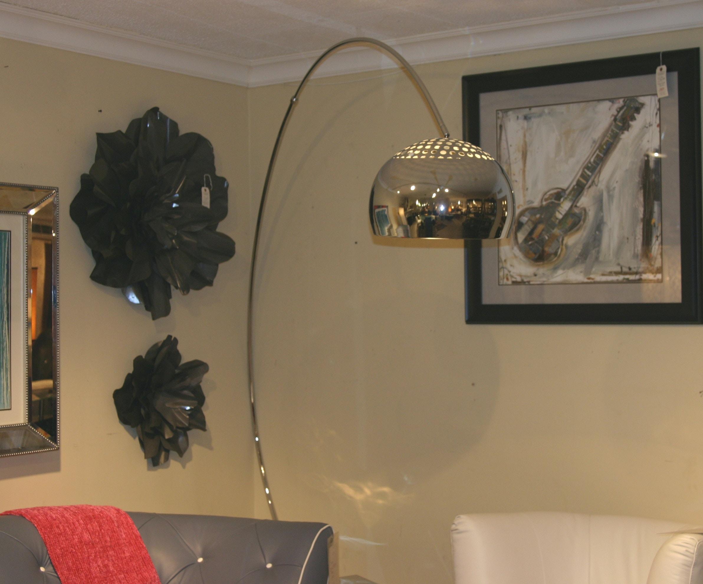 Reflections Furniture Armando Floor Lamp Chrome HGML204