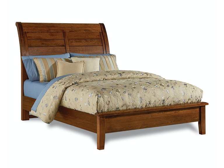 Artisan Choices Cherry Sleigh King Bed G68530