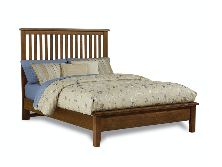 Artisan Choices Cherry Slat Queen Bed G68531