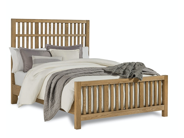 Artisan Choices Craftsman Queen Slat Bed G68528