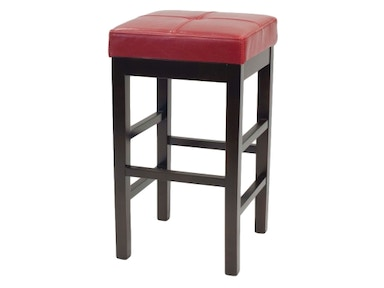 New Pacific Direct Valencia Red Counter Stool 480708