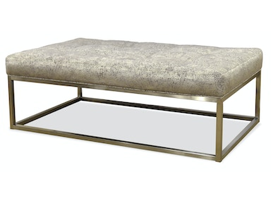 Jonathan Louis International Copley (Palma) Metal Ottoman 525665