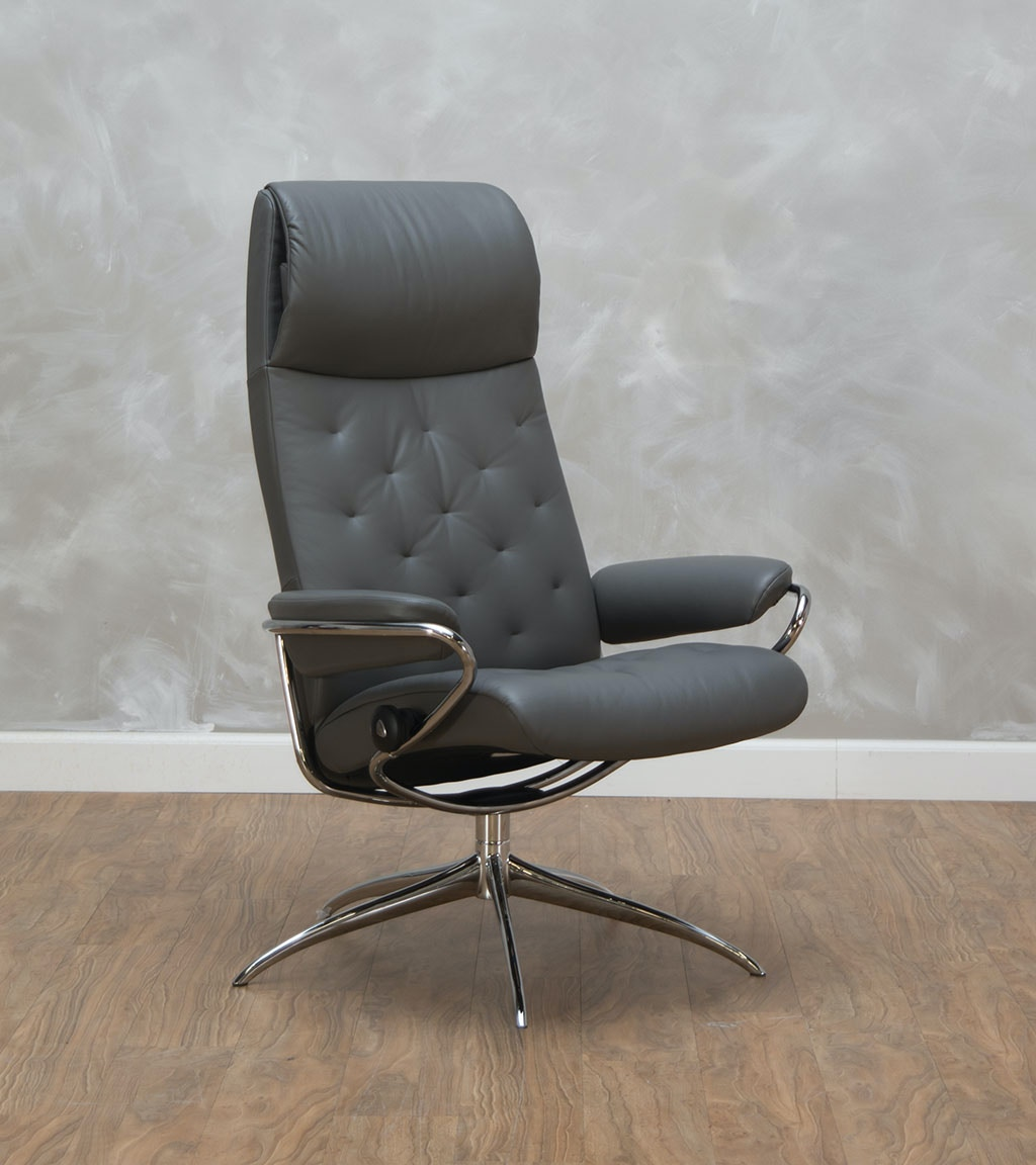 stresslessekornes home office metro high back office chair