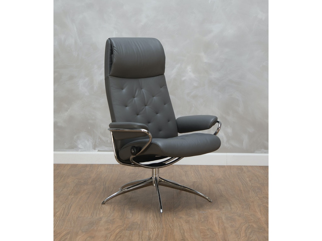 stressless by ekornes home office metro high back office. Black Bedroom Furniture Sets. Home Design Ideas