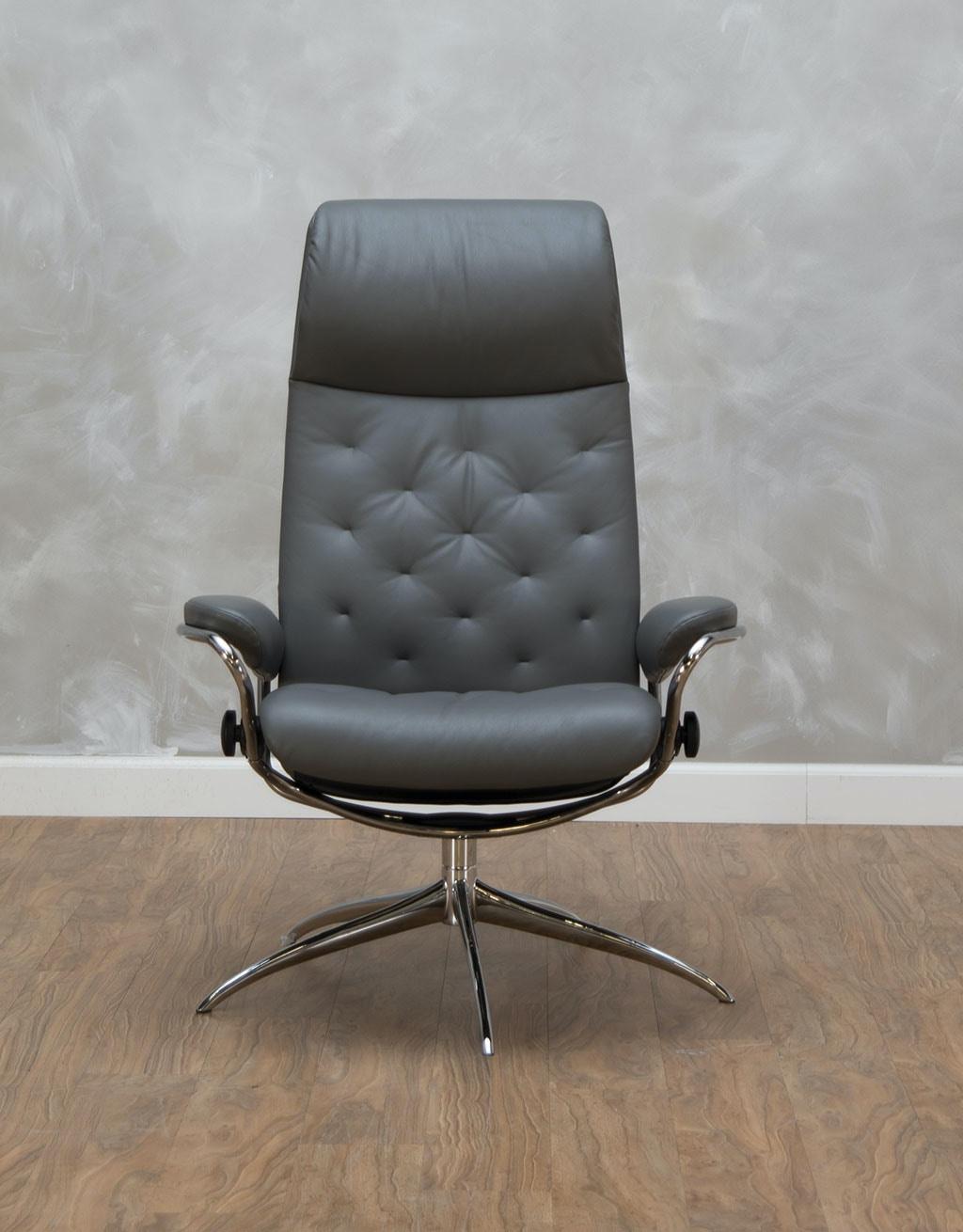 stressless by ekornes metro high back office chair