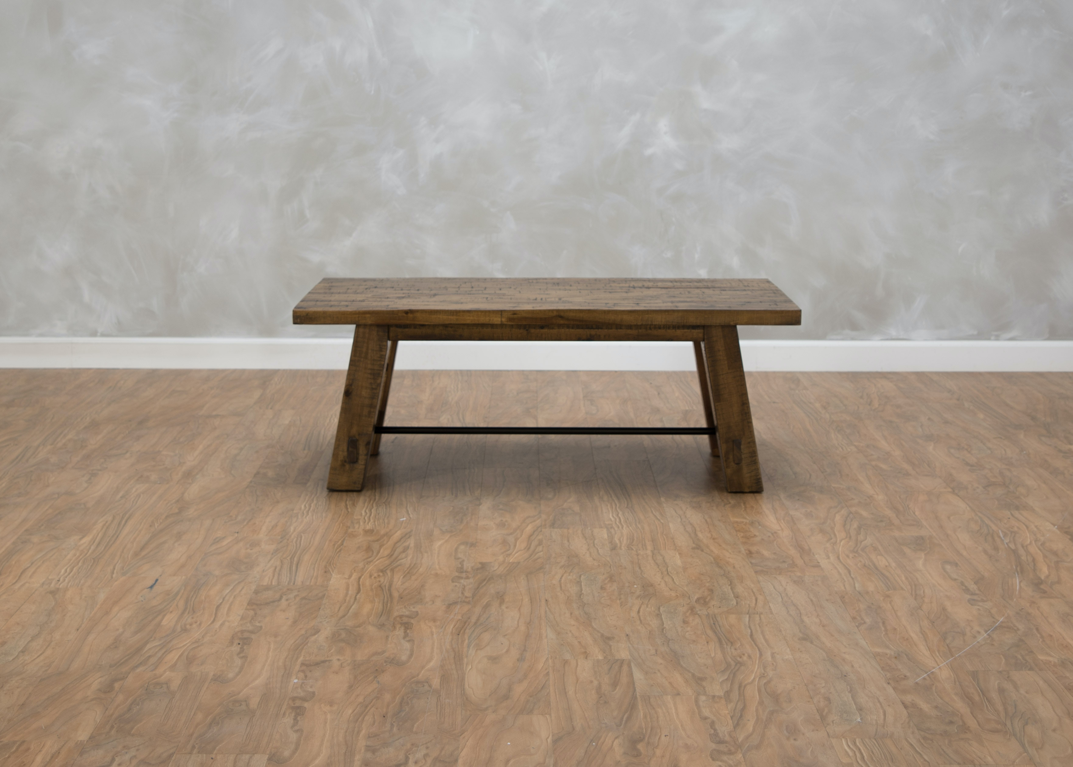 Captivating First Avenue Folsom Trestle Cocktail Table 550613