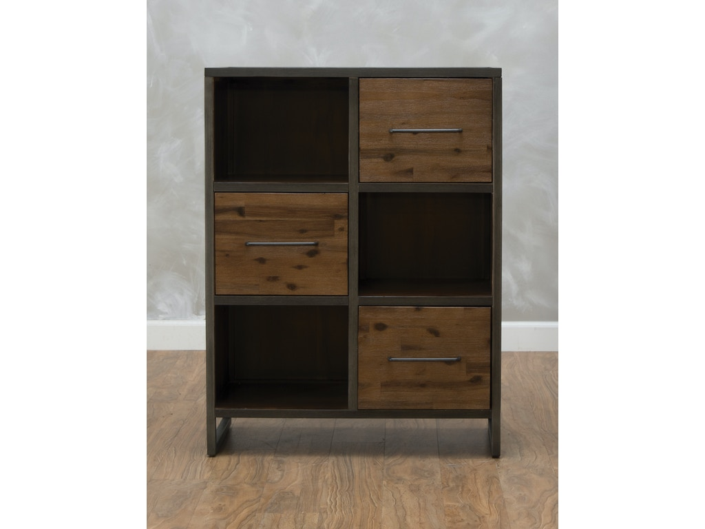 First Avenue Studio 16 Accent Bookcase 544057 - First Avenue Living Room Studio 16 Accent Bookcase 544057