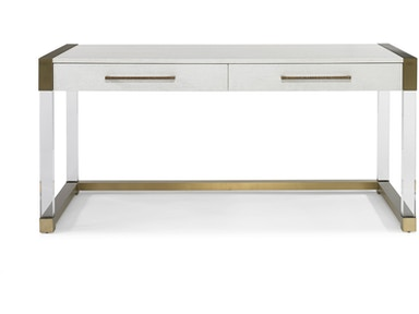 Hickory White Argon Acrylic Writing Desk 546388
