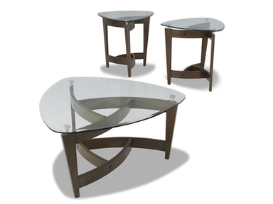 Klaussner Caprice Cocktail Table and 2 End Tables 525677