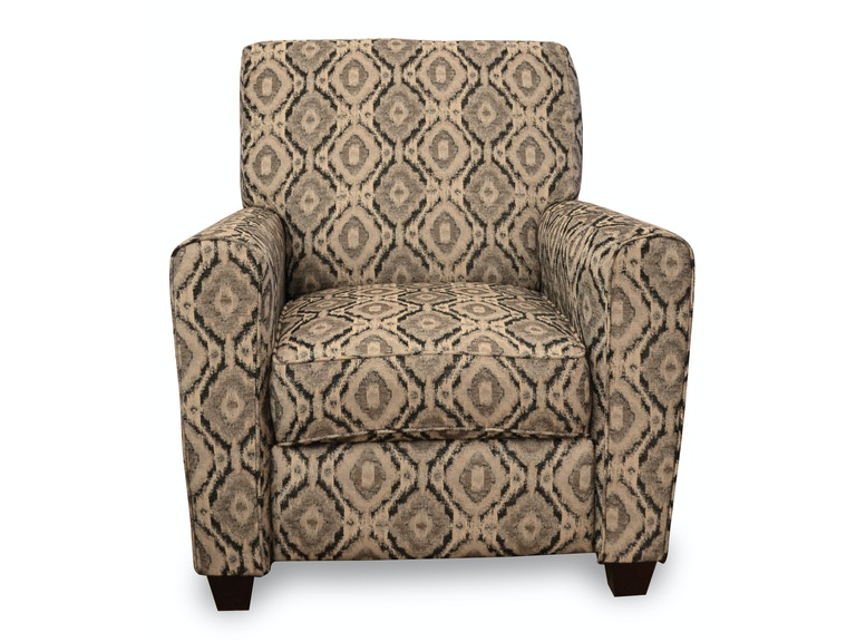 American Upholstery Simon Push Back Accent Recliner 528189