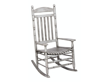Hinkle Chair Company Riverside Antique Gray Rocker 538575