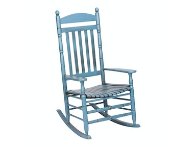 Hinkle Chair Company Riverside Antique Blue Rocker 538577