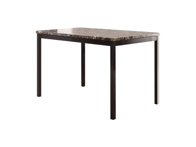 Horizon  Tempe Table with Faux Marble Top 495598