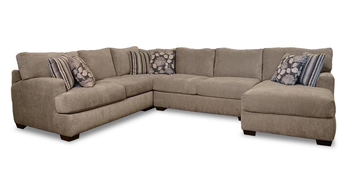 Corinthian Living Room Josephine 4 Piece Sectional G62210