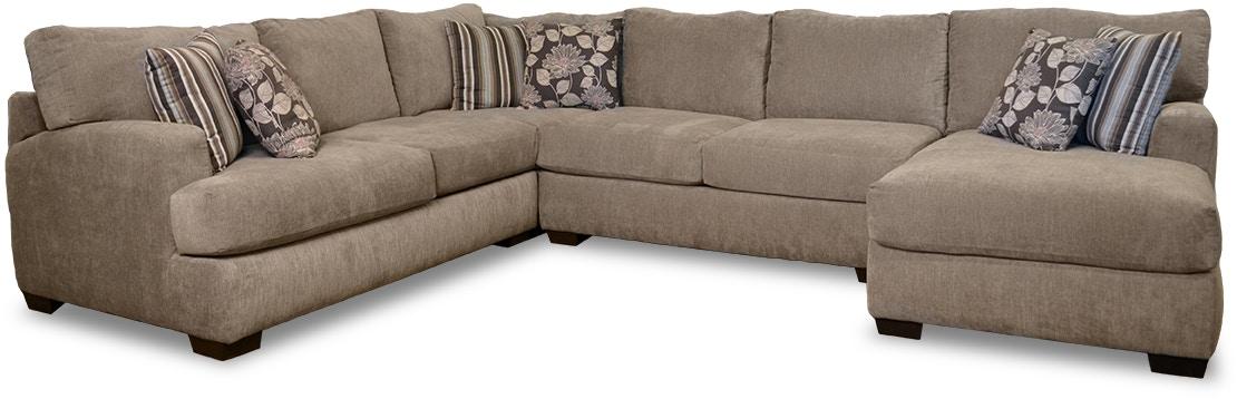 Chesapeake Living Room Josephine 4 Piece Sectional G62210