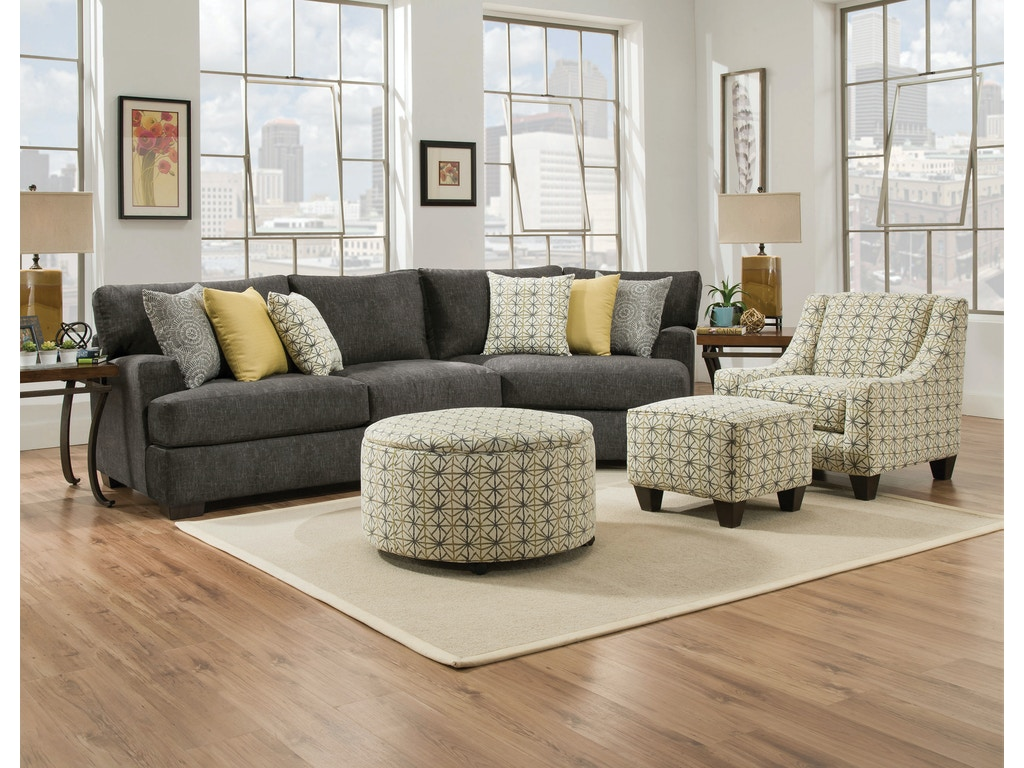 Chesapeake living room alton 2 piece sectional alternate configuration 3 g70524 kittle 39 s for Living room furniture configurations
