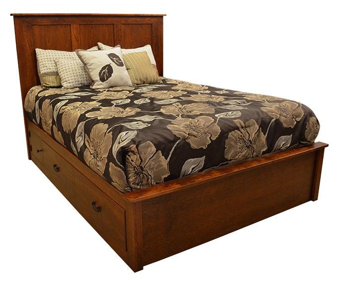 Daniels Amish Bedroom Concord Queen Bed G59170 Kittles