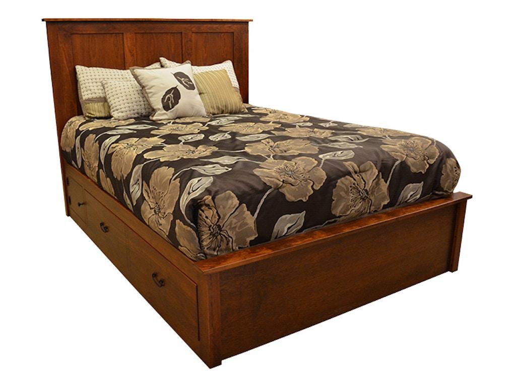 Kittles Bedroom Furniture Daniels Amish Bedroom Concord Queen Bed G59170 Kittles