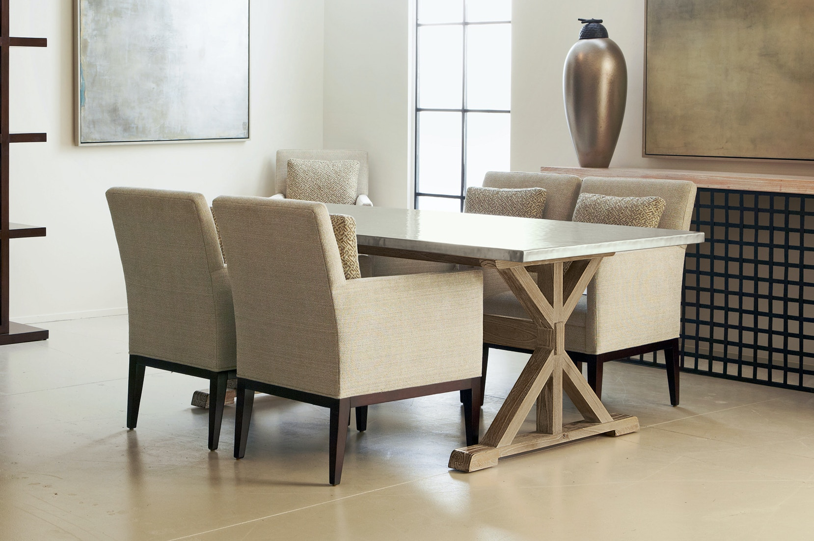 monterey 9 piece table and chair setbernhardt kensington