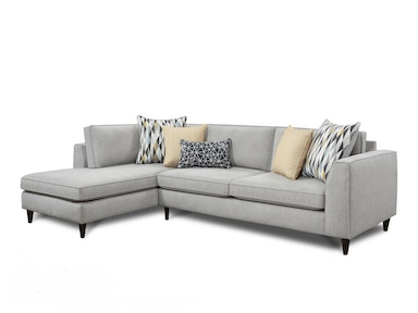 Fusion Toulon 2 Piece Sectional G70035