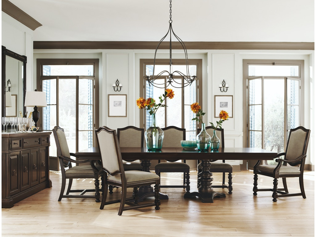 Bernhardt Dining Room Pacific Canyon Dining Table G61423 ...