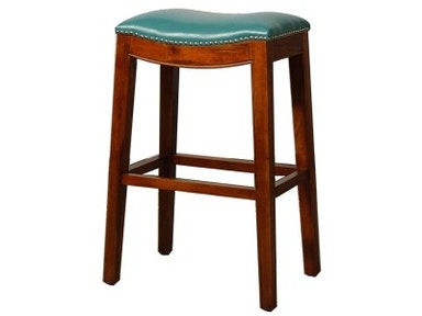 New Pacific Direct Elmo Turquoise Stool 505733