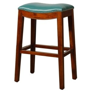 New Pacific Direct Dining Room Elmo Turquoise Stool 505733