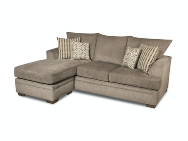 American Upholstery Simon Chofa - Pewter 528103