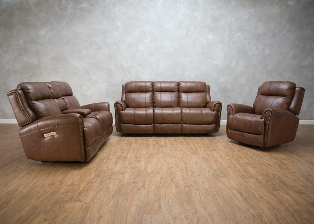 Bassett Living Room Marquee Reclining Sofa Power2 549284 - Kittle\'s ...