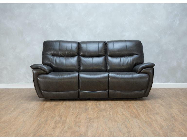 Bassett Living Room Brookville Reclining Sofa Power2 549293 ...