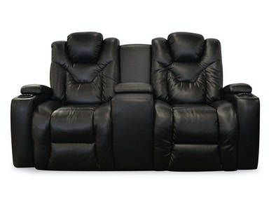 Oveyo Maxx Power Reclining Console Loveseat 498141