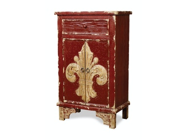 New Pacific Direct Lourdes Red Chest 503982