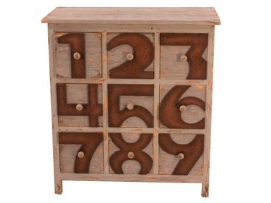 New Pacific Direct Tuscany Numbers Chest 474037