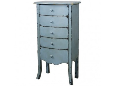New Pacific Direct Tuscany Blue Cabinet 499058