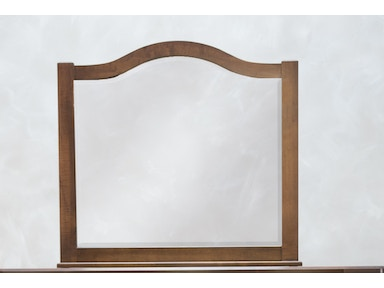 Vaughan Bassett American Maple Cherry Mirror 548422